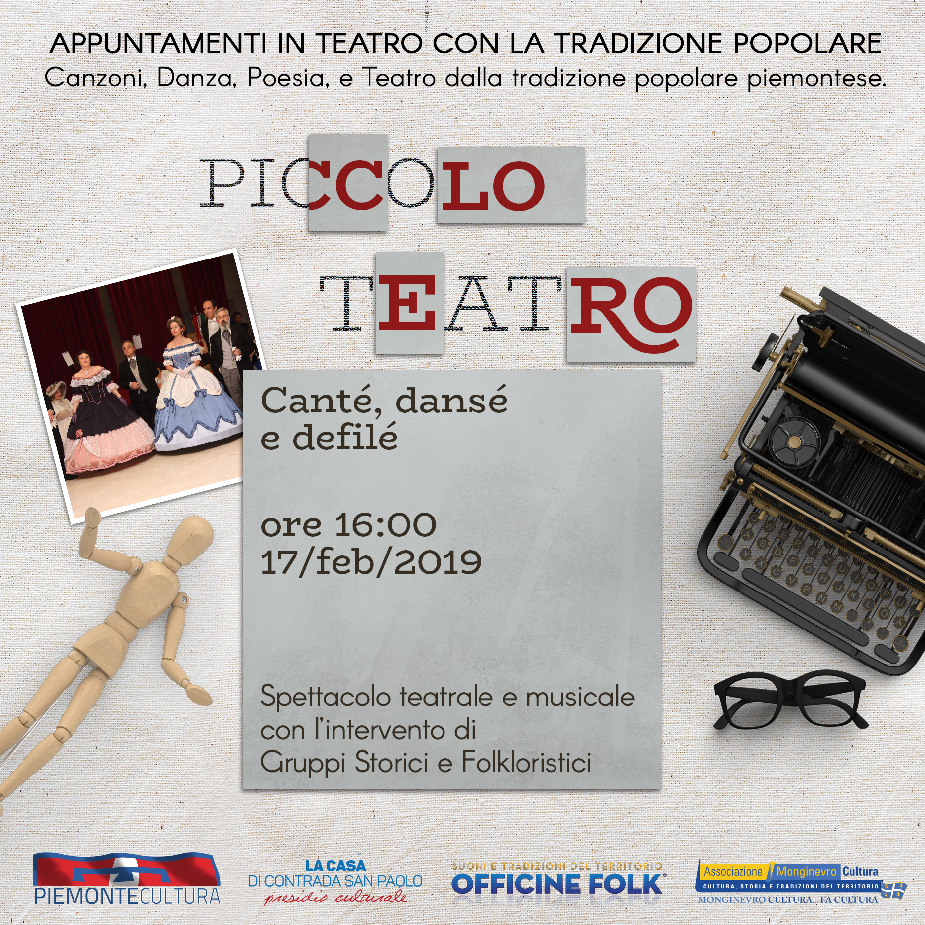 Piccolo teatro delle OFFO - 17 febbraio 2019