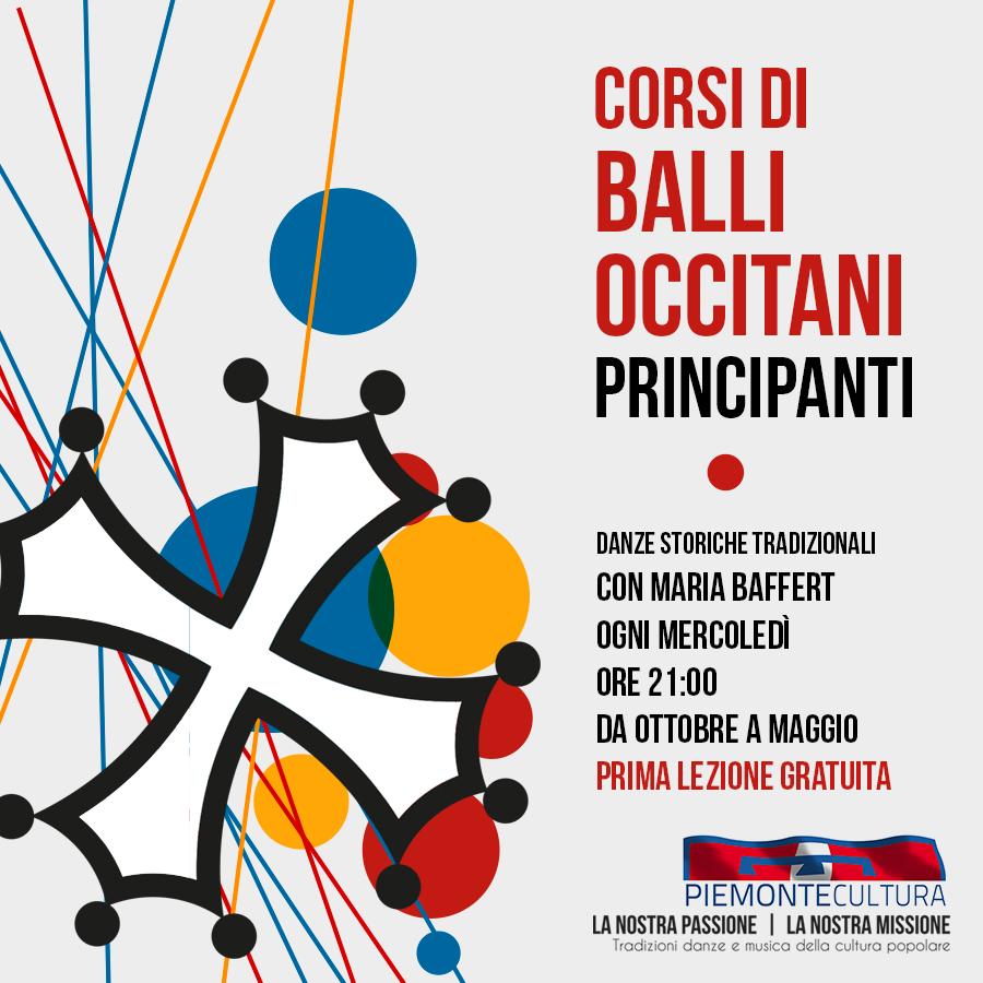Corso di balli Occitani - dal 2 ottobre 2019